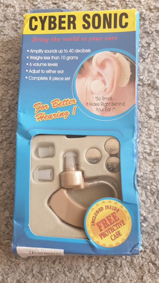 JH-115 BTE Hearing Aids Assisted Listening Devices photo review