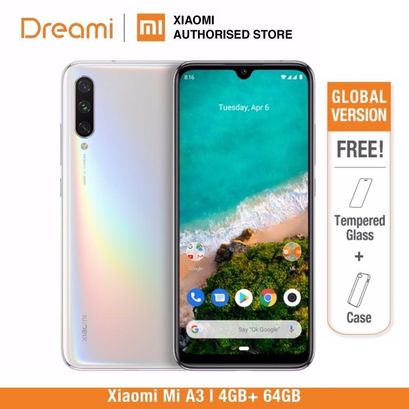 Global Version Xiaomi Mi A3 64GB ROM 4GB RAM (Official) Mia364gb