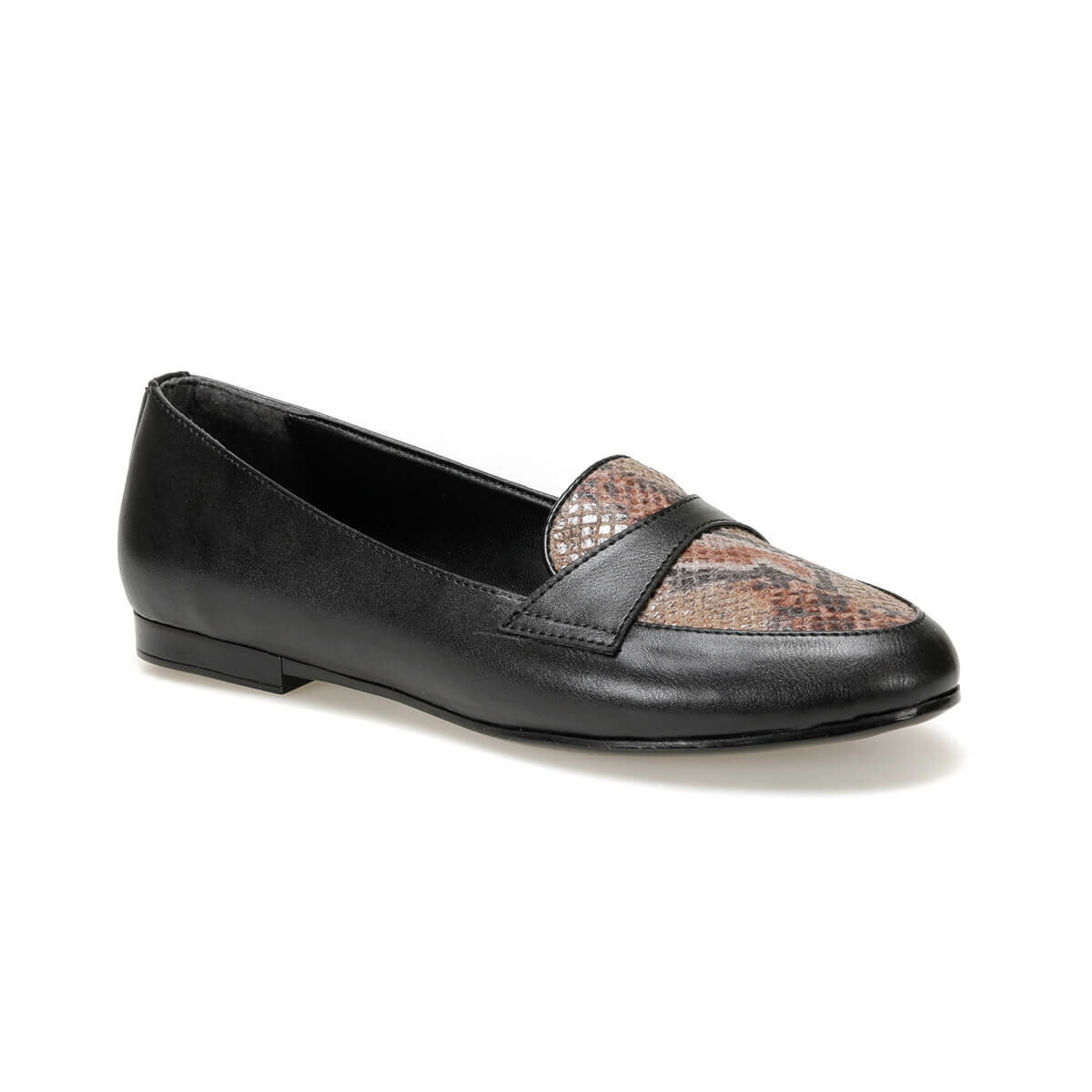 FLO DW19083 Black Women Loafer Shoes Miss F