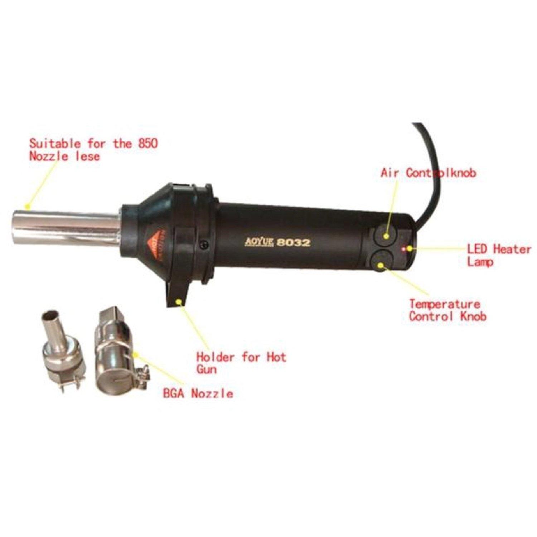 AOYUE-8032 Hand Held Hot Gun тестер сопротивления japan kyoritsu kyoritsu kyoritsu 6015 4102a 4105a 8032