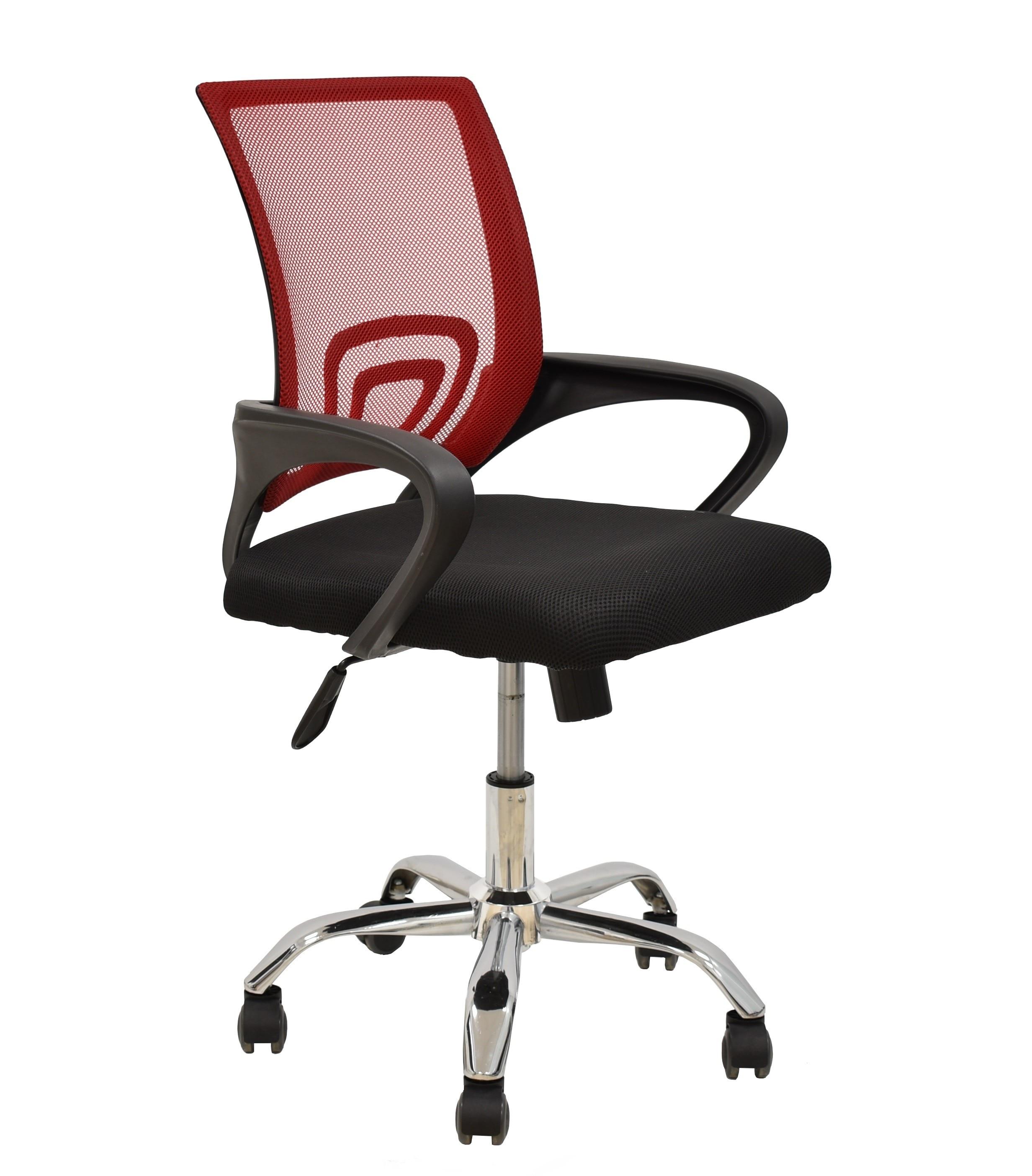 Office Armchair FISS NEW, Black, Gas, Tilt, Network Mesh Fabric Black