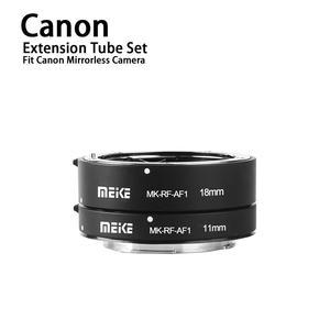 Meike металлическое Удлинительное Кольцо для макросъемки с автофокусом, 11 мм, 18 мм, для Canon EOS, R, EOS, RP, RF серии