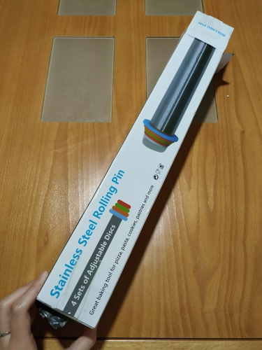 Adjustable Stainless Steel Rolling Pin photo review