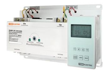 Automatic input unit reserve bavr 3 p 250/200 a TDM