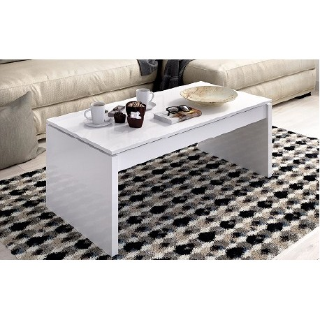 Coffee Table Liftable Side In Two Colors To Choose.