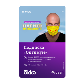 Okko the Optimum for 6 months Package Subscription Digital Code Okko _ 6mth _ opt_RP