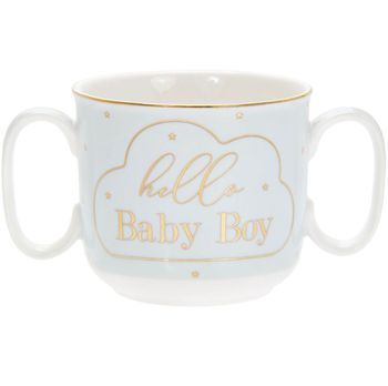 Mug with 2 handles Hi kid 180 ml