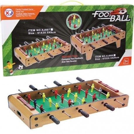 FOOSBALL WOOD ON TABLE JUGATOYS