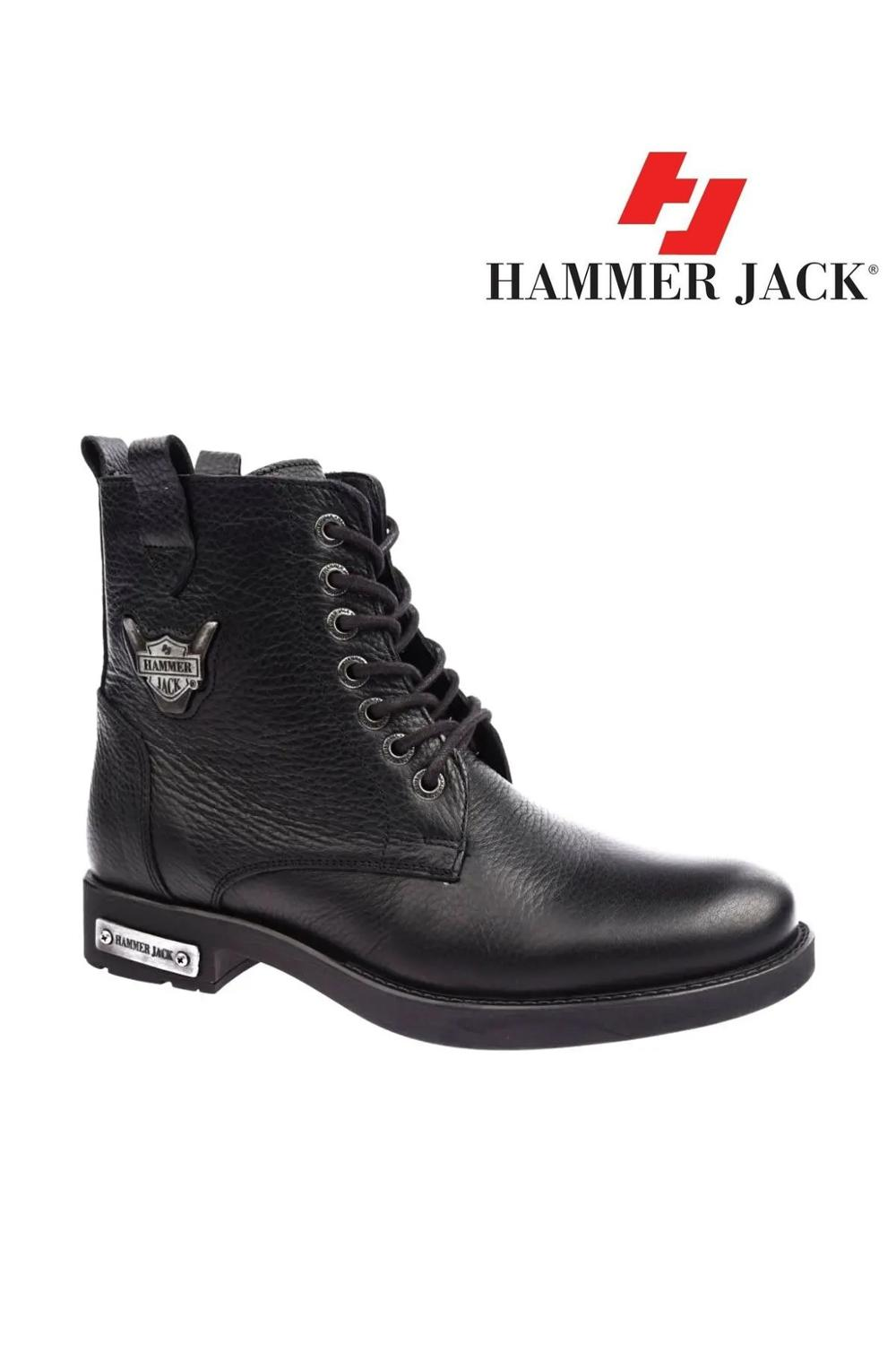 Hammer Jack Male Genuine Leather Boots 102 15200-M 5