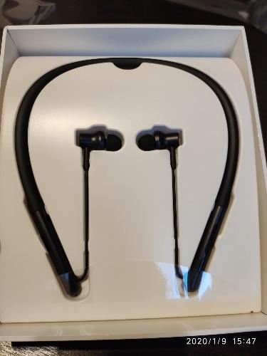 Original Xiaomi Bluetooth Collar Earphone Sport Wireless Bluetooth Headset with Mic Play Dual Dynamic Earbuds Headset Headphone-in Bluetooth Earphones & Headphones from Consumer Electronics on AliExpress