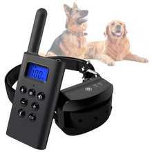 Collar de Adiestramiento para Perros L-168 con Mando Sumergible Batería Antiladridos Estimulación Vibración Pitido Luz