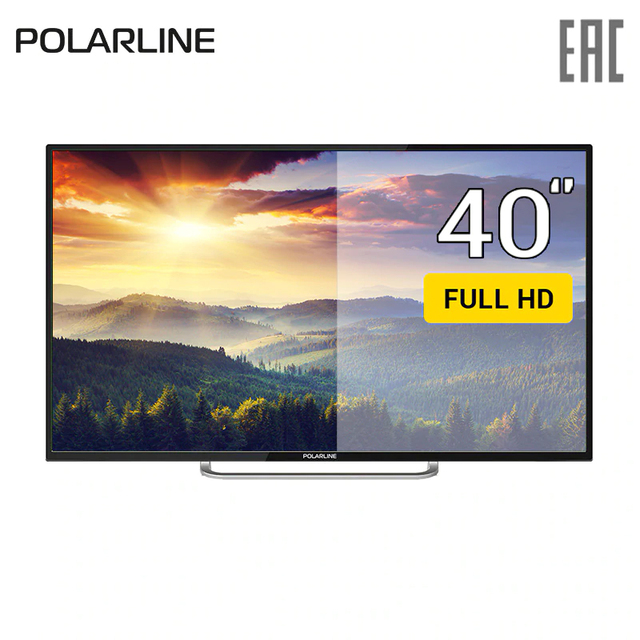 "Телевизор 40"" Polarline 40PL51TC FullHD"