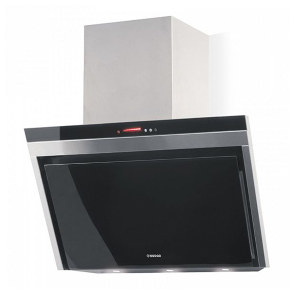 Conventional Hood Nodor LIRA 900 GLASS 90 Cm 740 M3/h 59 DB 100W Black