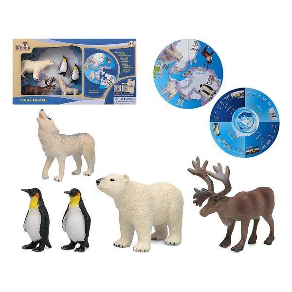 Set Of Wild Animals Polar 113044 (5 Pcs)