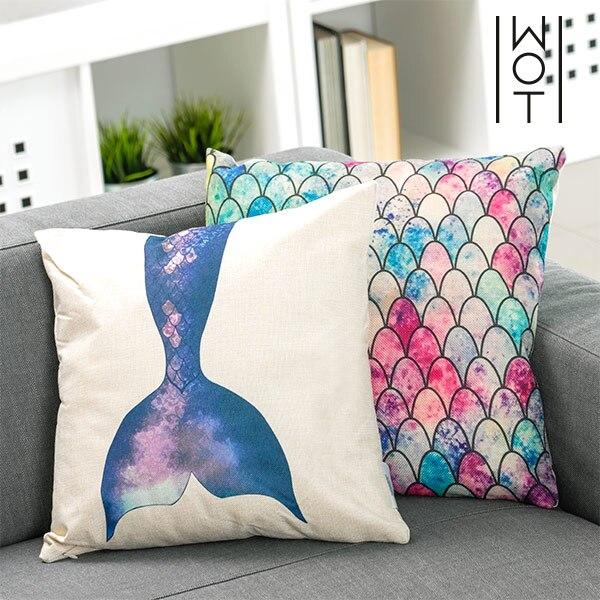 Wagon Trend Mermaid Cushion