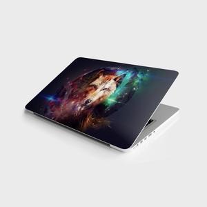 Naklejka Master Wolf explosion uniwersalna skórka na laptopa 13 14 15 15.6 16 17 19