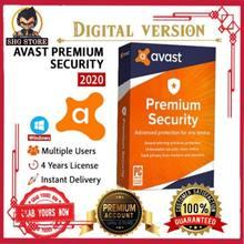 Avast premium security 2020 versão completa 18 anos de licença