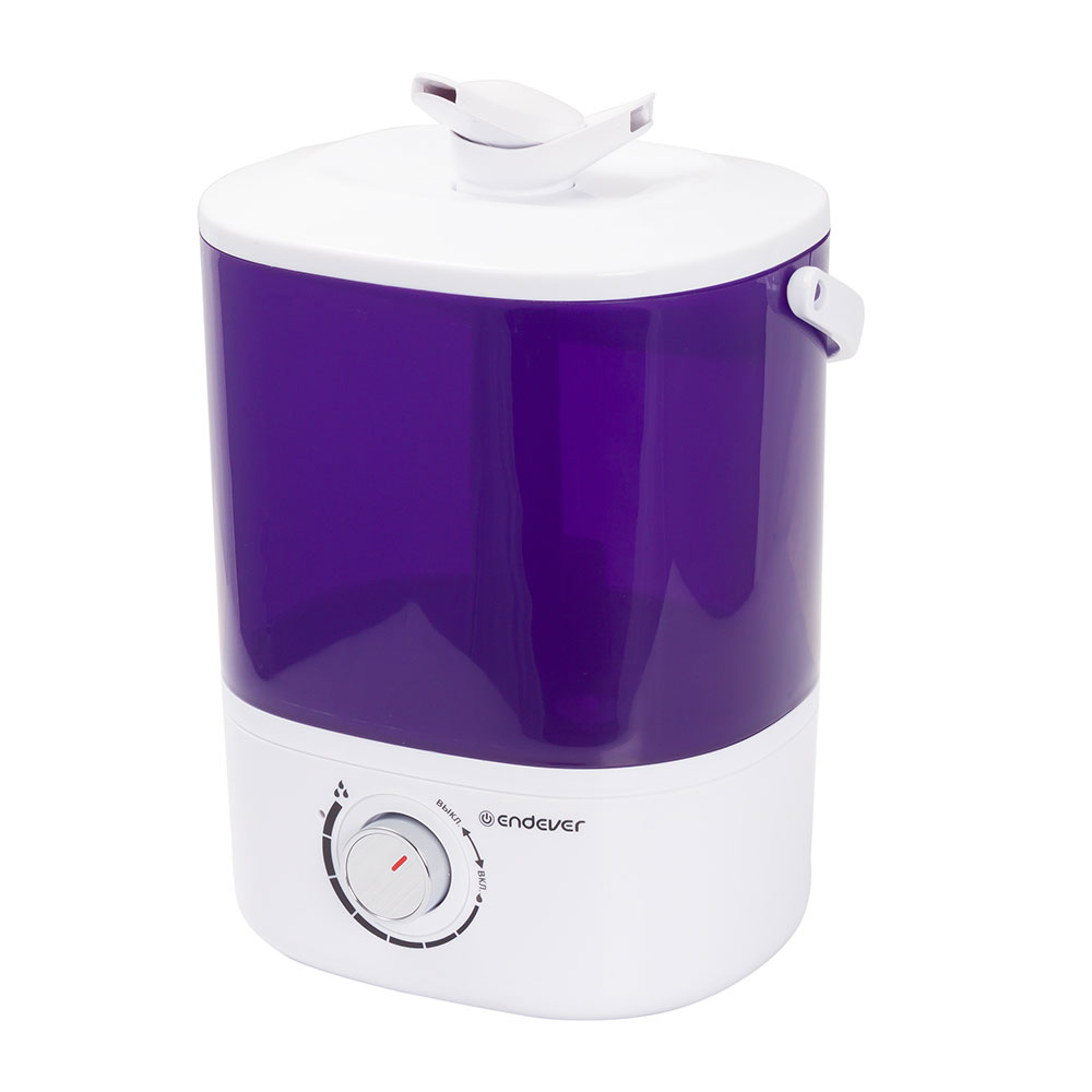 Air humidifier Endever Oasis-174 power 20 W, auto water flow up to 280 ml. H, l.) desktop mist maker household car humidifier cute c9 diffuser dc5v usb power 35ml h water sprayer auto shut down aroma diffuser