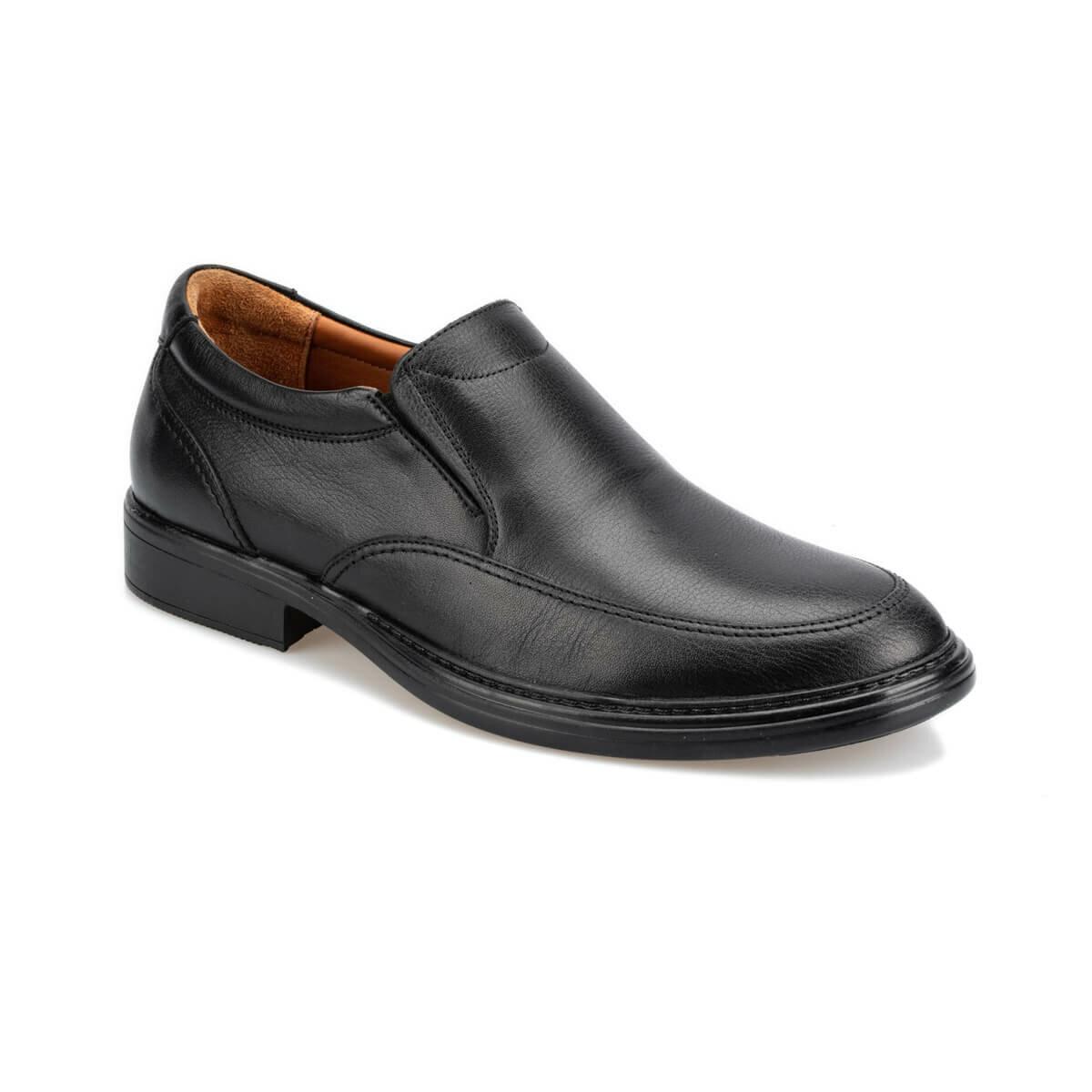 FLO 92.200882.m zapatos negros Polaris 5 puntos