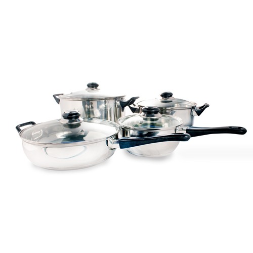 Stainless Steel Cookware (12 pieces) - 5