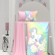 Pillowcase Bedding-Set Crib Bed-Sheet Baby Quilt-Cover Girl Organic%100 Soft Newborns