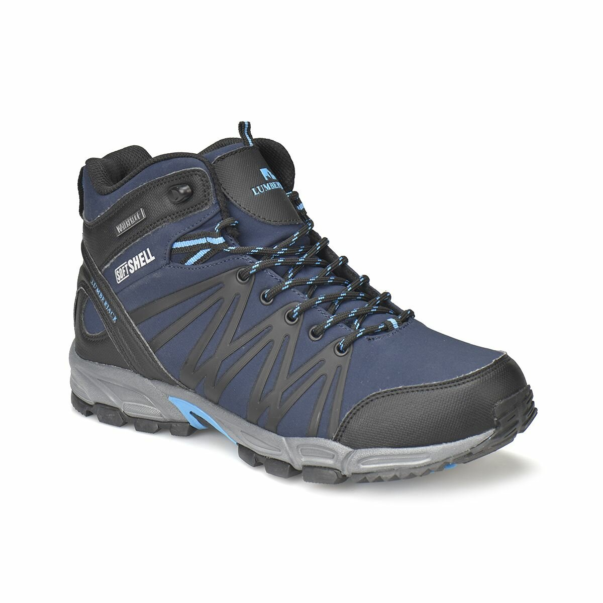 FLO SHELL HI Navy Blue Male Outdoor Boots LUMBERJACK
