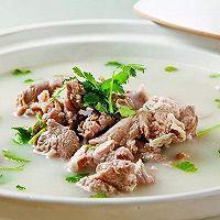 花心萝卜羊肉汤的做法图解4