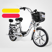E BIKE48V Double shock absorption electric bicycle lithium battery adult battery bike  18 inch 10/14/17/20 Ah battery