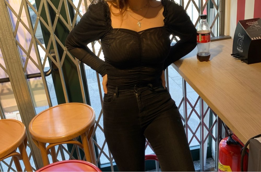 Sexy Black Lace Low Collar Bodysuit Women Mesh Layered Backless Ruffles Slim Bodycon Tops Femme Elegant Vintage Overalls photo review