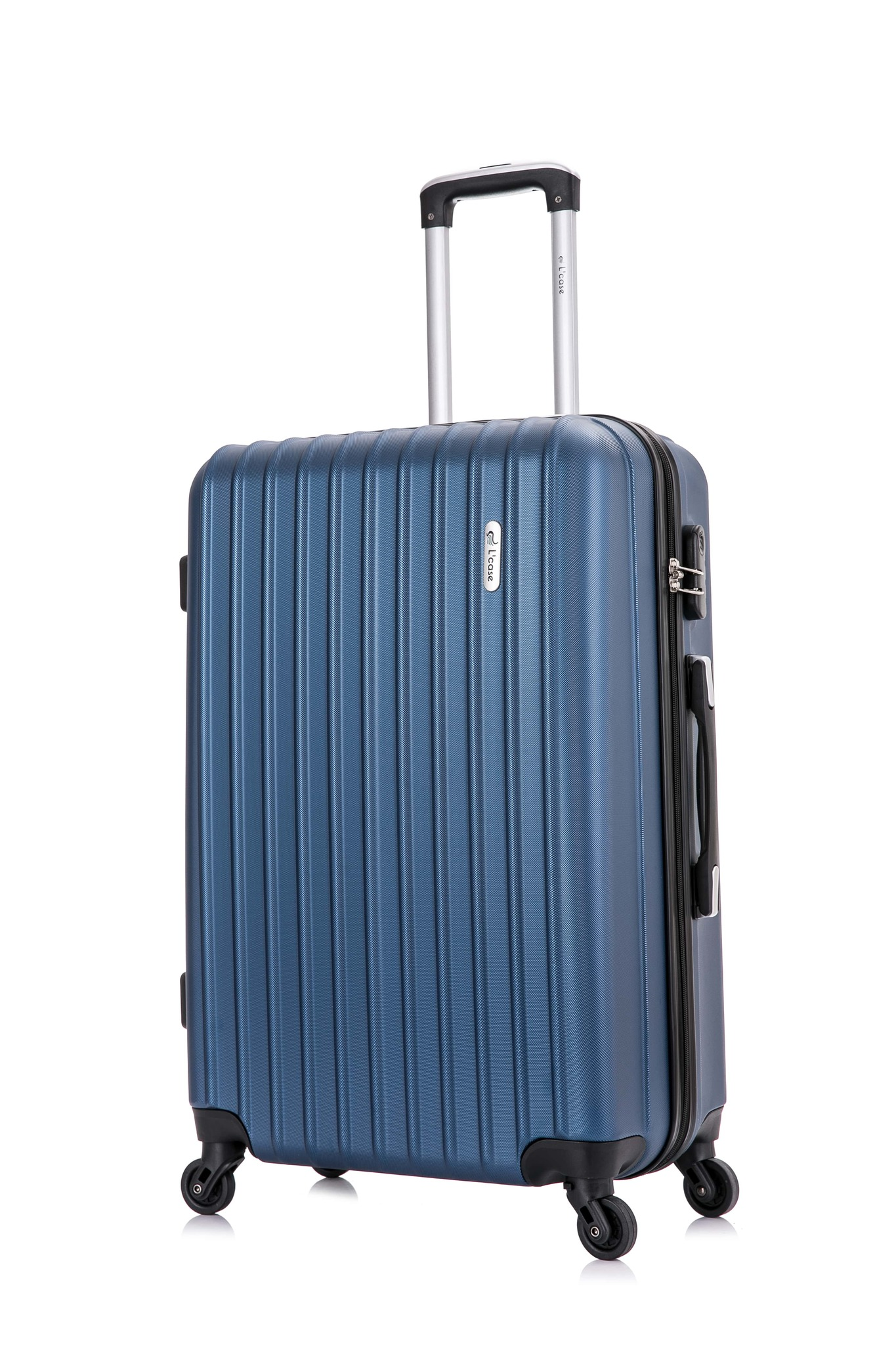 Suitcase Krabi Dark Blue Suitcase Carry-on Luggage Classic Travel Trip Luggage Case Bag ABS+PC Suitcase Travel Trolley Luggage ABS+PC Suitcase Travel Trolley Luggage Business Business Trip