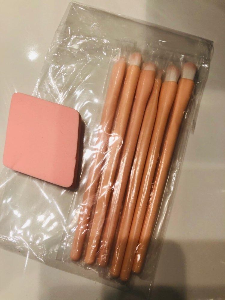 MSQ Eyeshadow Brush 6PCS Makeup Brushes Set Blending Eyebrow Lip Eye shadow Brush Synthetic Hair Cosmetic Make Up Tool Kits reviews №2 114826