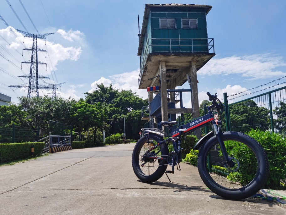 Electric Bike with LCD Display and Removable Lithium Battery photo review