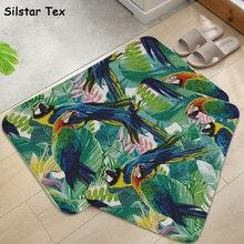 Мультяшный длинный нескользящий кухонный коврик silstar tex