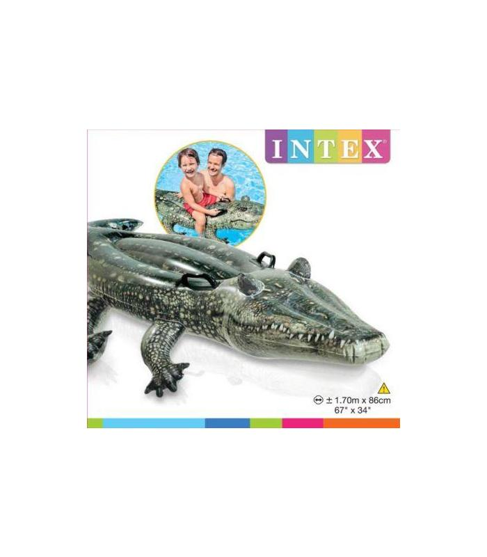 Figure Inflatable Crocodile Real170 X 86 Cm Toy Store Articles Created Handbook
