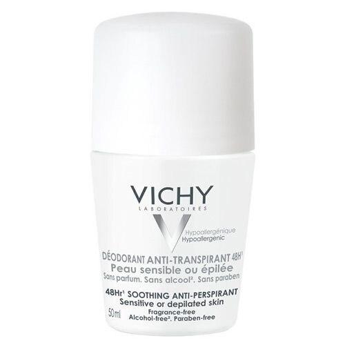 Vichy transpiração anti desodorante 50ml uso sensível