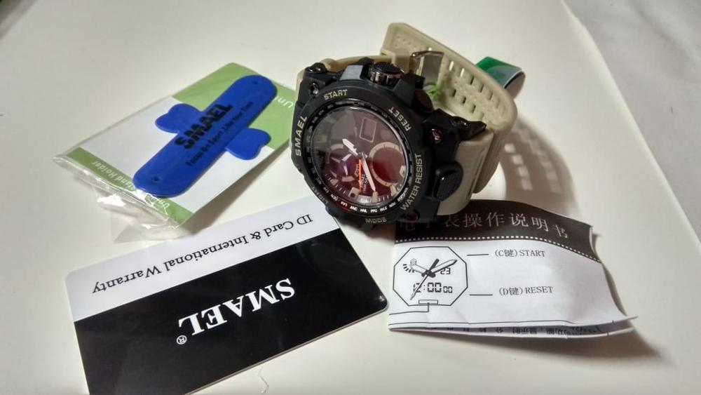 שעון צבאי לחיילים דגם 220 photo review