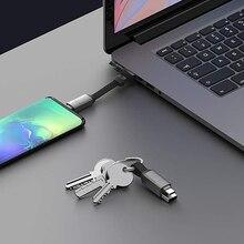 InCharge 6-шесть-в-одном, мужские швейцарские армейские рюкзаки, Ножи кабелей, Портативный брелок USB/USB-C/Micro USB/зарядный кабель со вспышкой