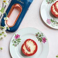 红丝绒旋风蛋糕卷的做法图解22