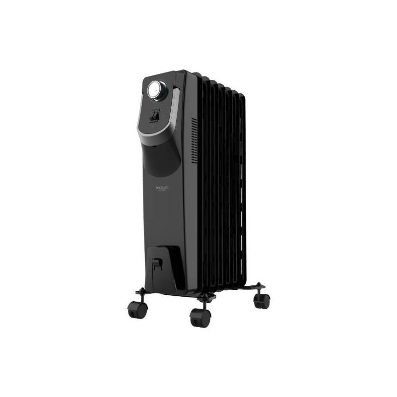 Oil Radiator (7 Bodies) Cecotec Ready Warm 5770 Space 360 ° 1500W Black