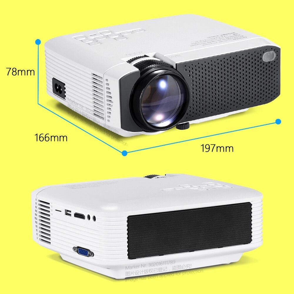 AUN mini projetor D50s  1280x720P/800x480P  suporte android wifi projetor 4k (x96q)   home theater full hd 1080p 3d   mini projetor portátil-4