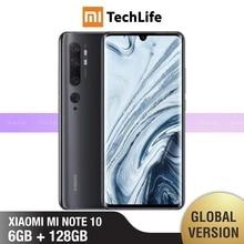 Global Version Xiaomi Mi Note 10 128GB ROM 6GB RAM (Brand Ne