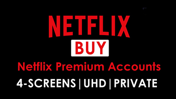 Netflix Account for Netflix Subscription Original 4K Premium Netflix 4 Screen can used in IOS Android and PC image