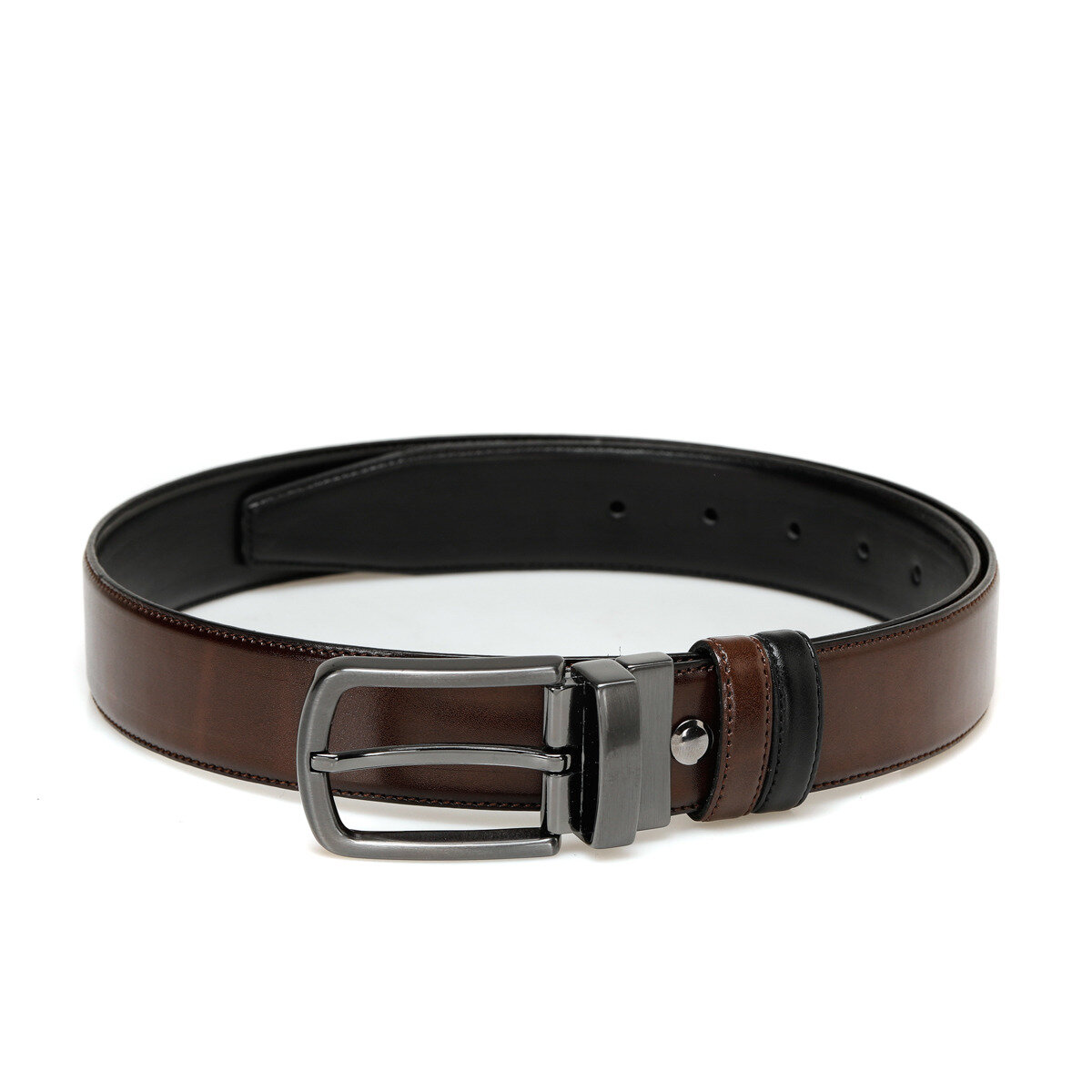 FLO 20M BR CFT Black Male Belt Garamond