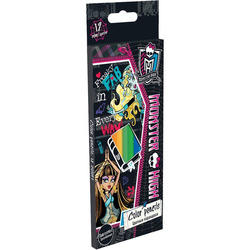 Matite colorate Monster High 12 PCs