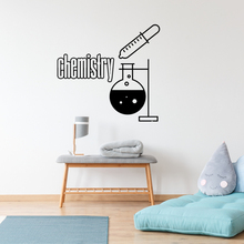 new Chemist Laboratory Apparatus Wall Sticker Decal Chemistry Sticker Home Decoration A00354 huaou 250ml gas generator kipps apparatus with safe funnel stopcock rubber stopper laboratory chemistry equipment