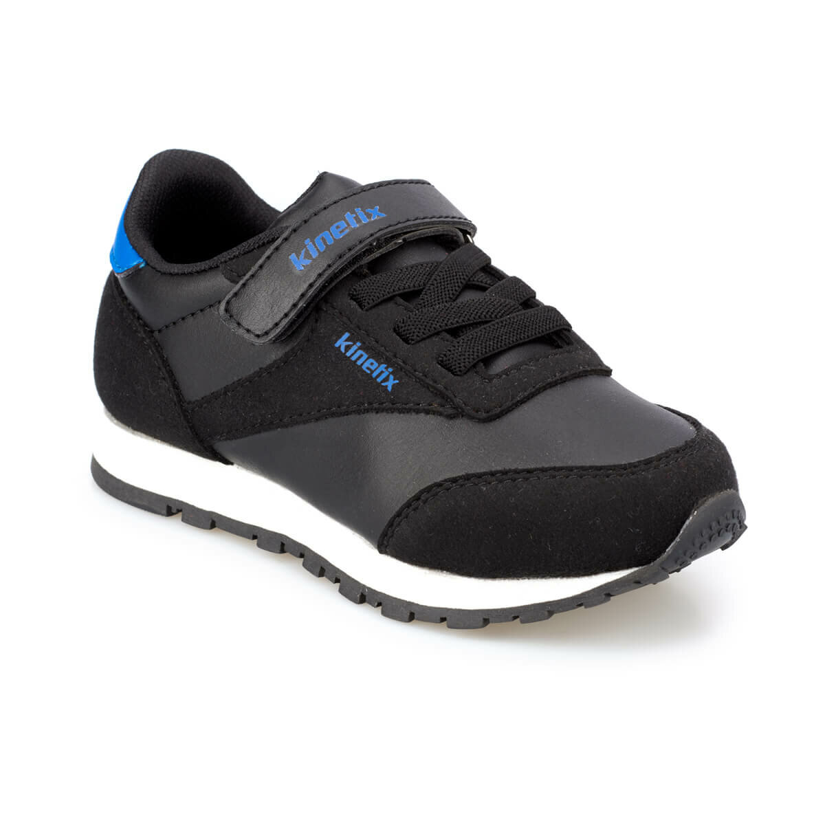 FLO LOWER J Black Male Child Sneaker Shoes KINETIX