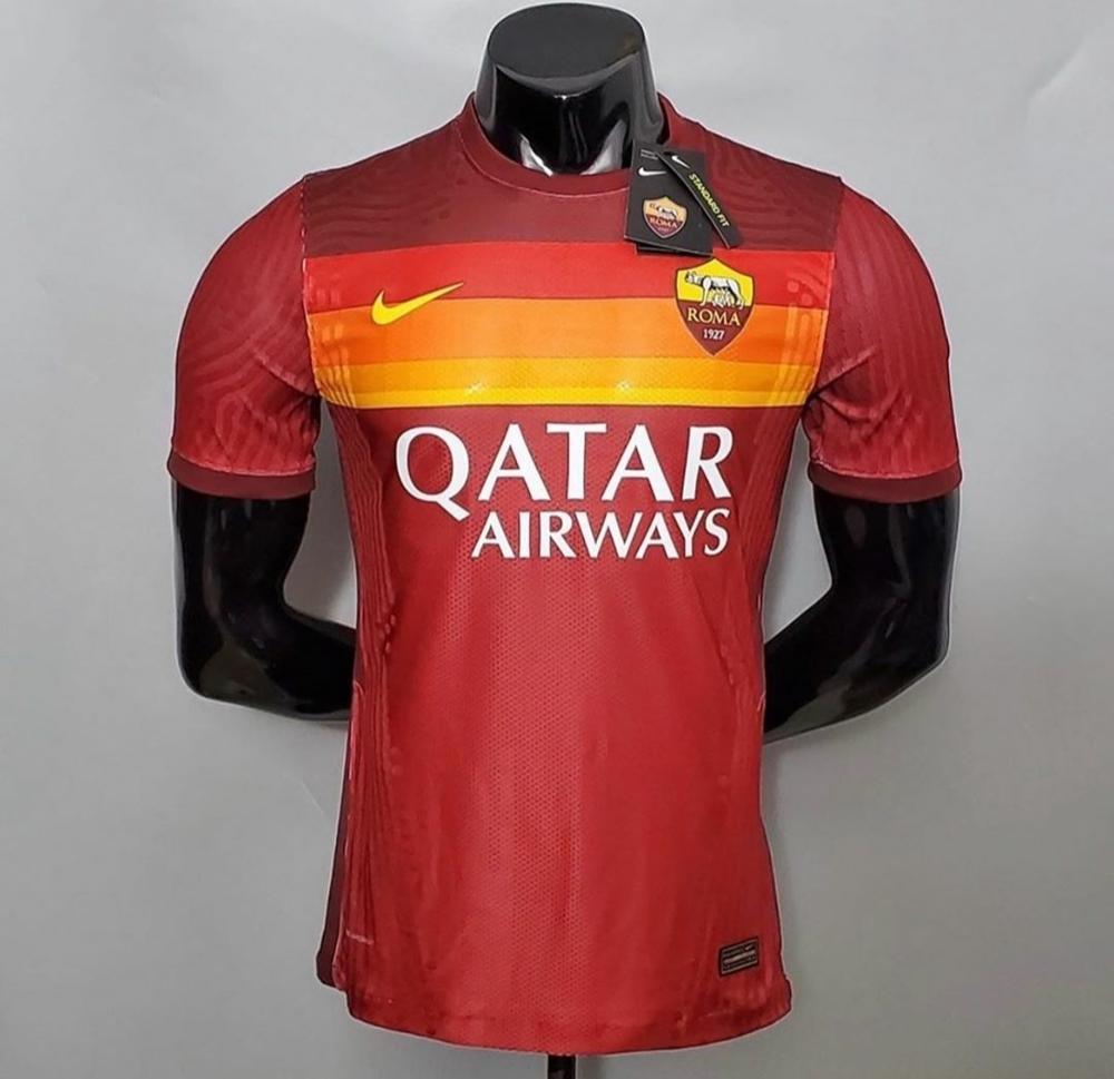 A kalite Seri A Roma formas¨®|Camisetas de fútbol| - AliExpress