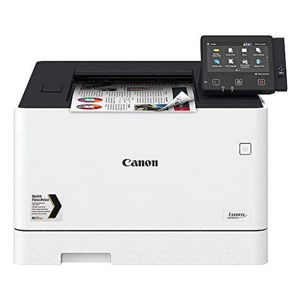 Laser Printer Canon I-Sensys LBP664Cx 27 Ppm LAN WiFi White