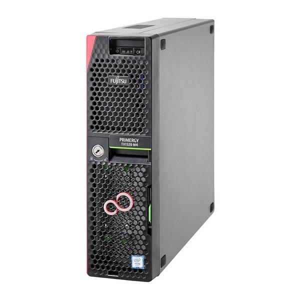 Server Turm Fujitsu Primergy TX1320 Xeon®4,3 GHz 16 GB RAM 2 TB Schwarz
