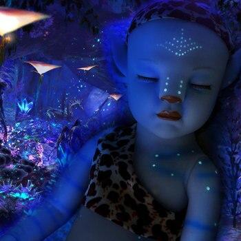 RSG-Muñeca de bebé Reborn de 20 pulgadas, cuerpo suave completo, para niños